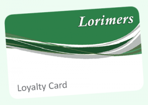 The Lorimers Loyalty Card