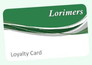 The Lorimers Loyalty Card